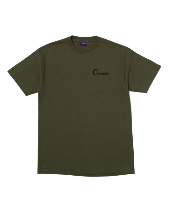 Carrots Andy Warhol T-Shirt - Olive