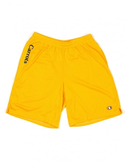 Carrots Chamomile Champion Mesh Shorts - Gold