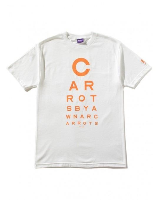 Carrots x Inari Eye Chart T-Shirt - White
