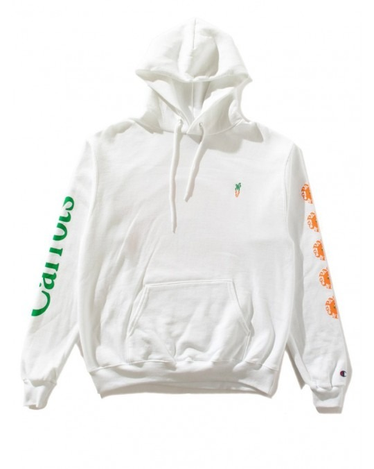 Carrots Paco Carrots Champion Pullover Hoody - White