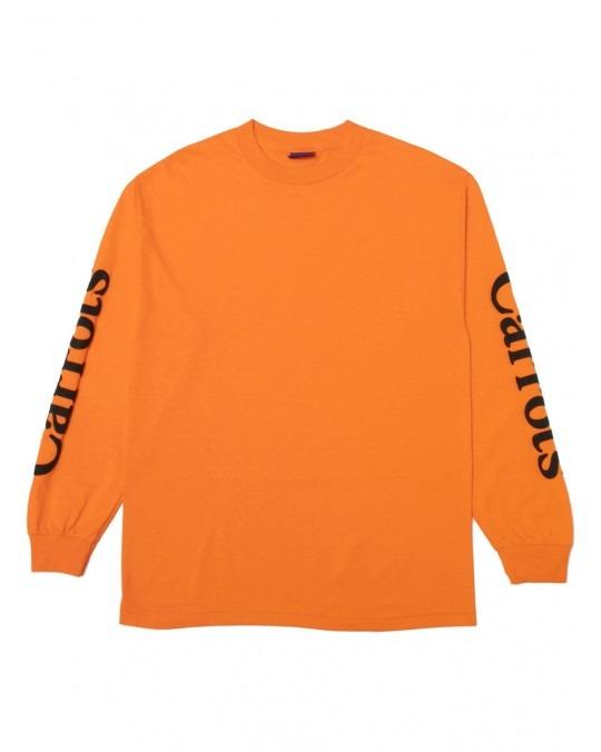 Carrots Wordmark L/S T-Shirt - Orange