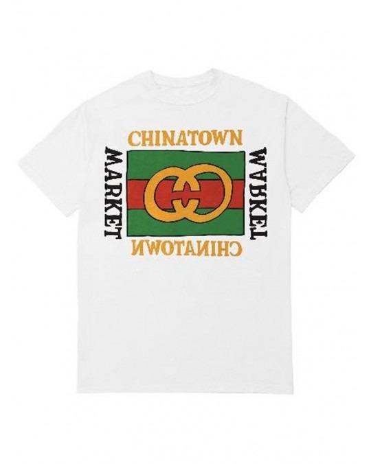 Chinatown Market Designer T-Shirt - White