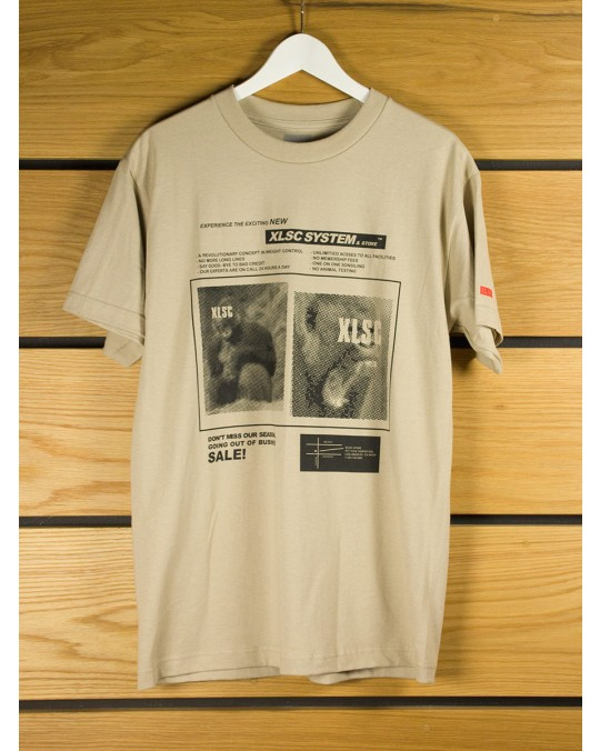 CLSC x X-Large System T-Shirt - Beige