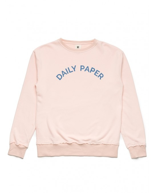 Daily Paper Pink French Terry Crewneck Sweater