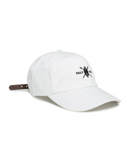 Daily Paper Shield Logo Cap - White