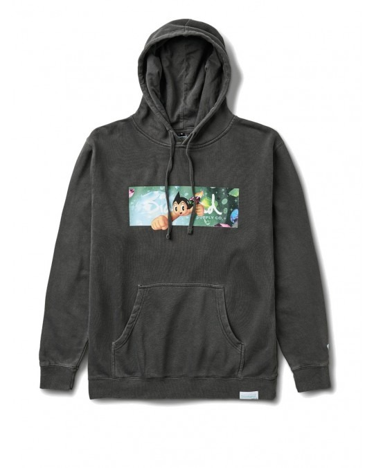 Diamond Supply Co x Astro Boy Box Logo Pullover Hoody - Black