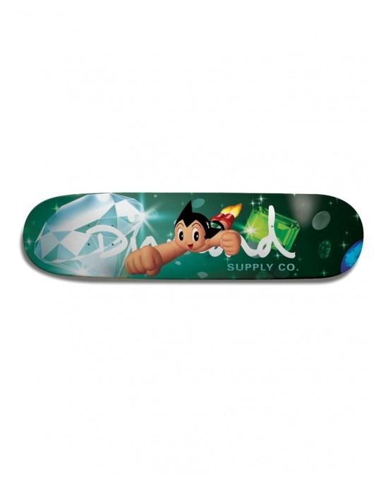 "Diamond Supply Co x Astro Boy Skate Deck 8.0"" - Multi"
