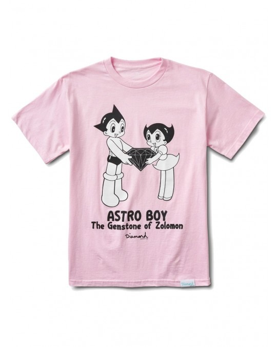 Diamond Supply Co x Astro Boy Gemstone T-Shirt - Pink
