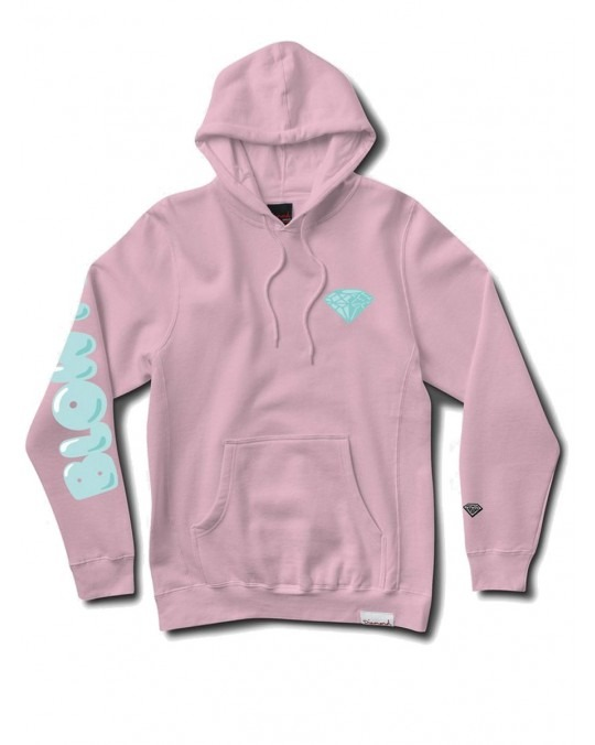 Diamond Supply Co Blow Me Pullover Hoody - Pink