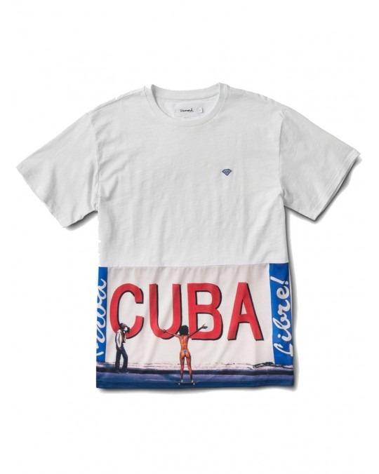 Diamond Supply Co Cuba T-Shirt - White