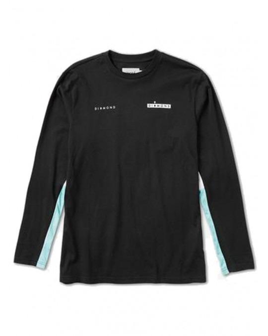 Diamond Supply Co Fordham L/S T-Shirt - Black