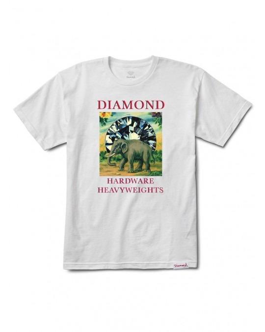 Diamond Supply Co Indigenous T-Shirt - White