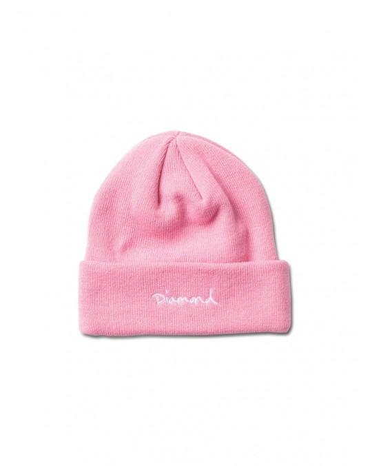 Diamond Supply OG Script Beanie - Pink