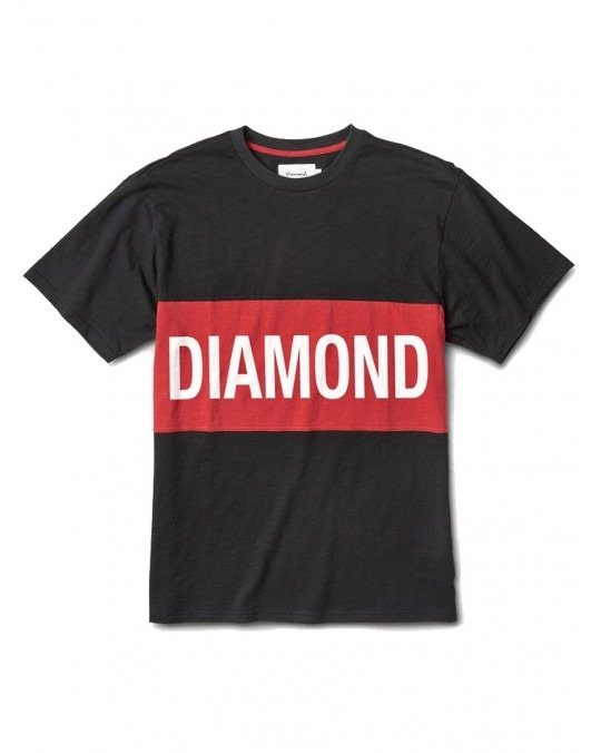 Diamond Supply Co Origin Panel T-Shirt - Black