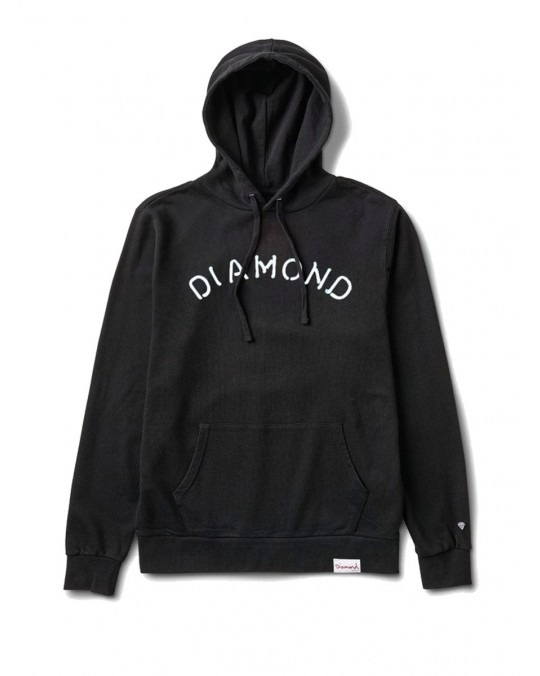 Diamond Supply Co Rosette Pullover Hoody - Black