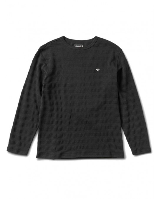 Diamond Supply Co Sportsman L/S Top - Black