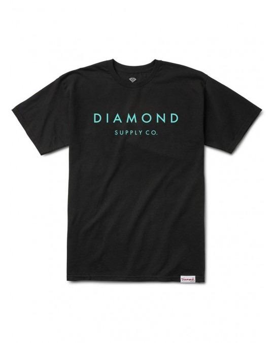 Diamond Supply Co Stone Cut T-Shirt - Black