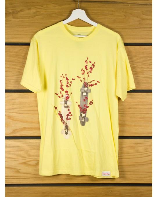 Diamond Supply Blossom T-Shirt - Banana
