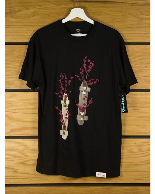Diamond Supply Blossom T-Shirt - Black