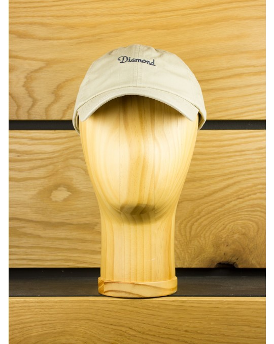 Diamond Supply Champagne Sports Hat - Tan