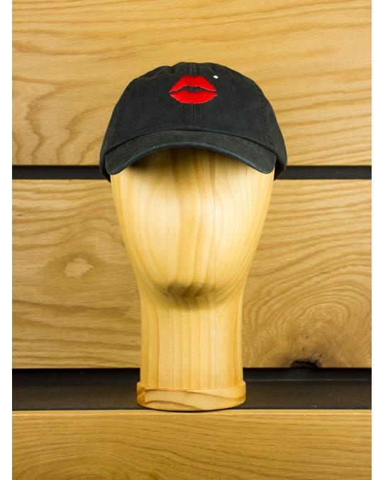 Diamond Supply x Marilyn Monroe Lips Sports Cap - Black