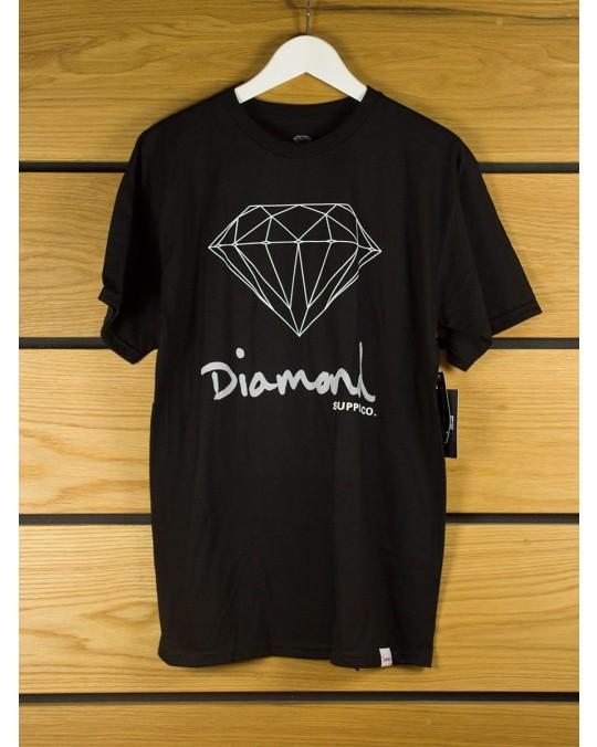 Diamond Supply OG Sign T-Shirt - Black