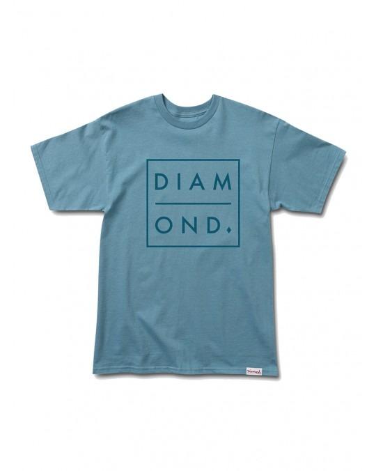 Diamond Supply Outline T-Shirt - Slate