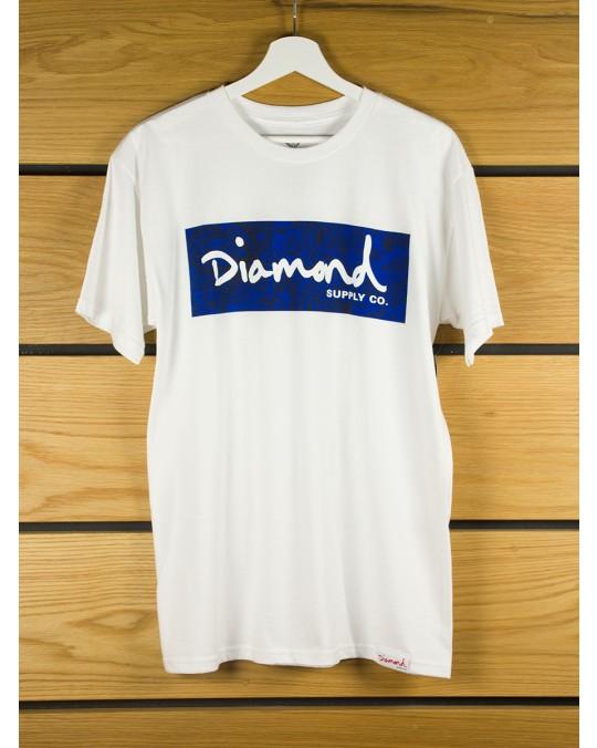 Diamond Supply Radiant Box Logo T-Shirt - White