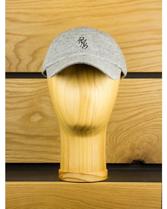 Diamond Supply Serif Sports Cap - Heather Grey