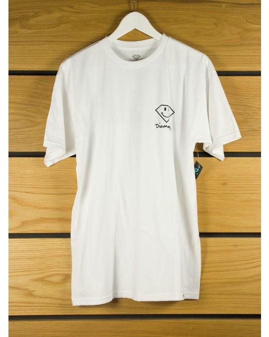 Diamond Supply Smile T-Shirt - White