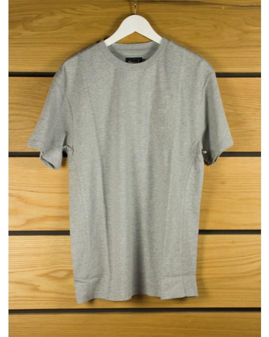 Diamond Supply Un Polo T-Shirt - Heather Grey