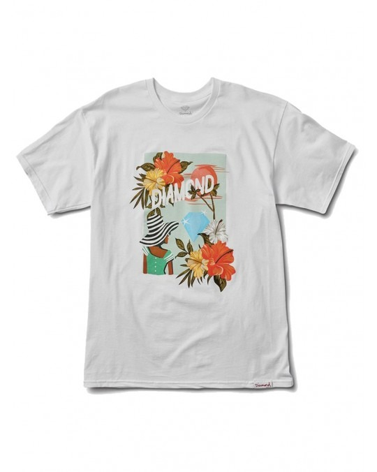 Diamond Supply Co Trade Wind T-Shirt - White