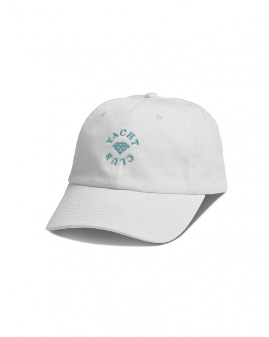 Diamond Supply Co Yacht Sports Club Hat - White