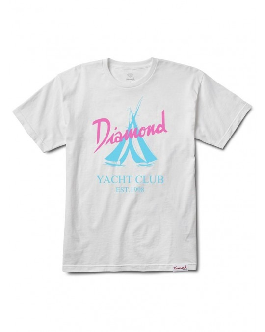 Diamond Supply Co Voyage T-Shirt - White