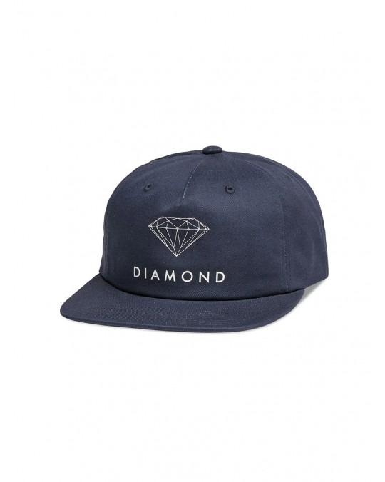 Diamond Supply Futura Unconstructed Snapback - Navy