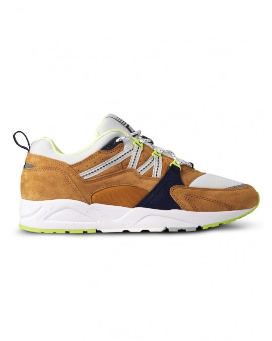 "Karhu Fusion 2.0 ""Catch Of The Day Pack"" - Buckthorn Brown Blue Flower"