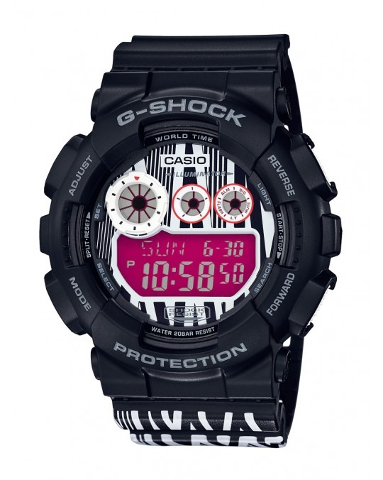 G-SHOCK x Marok! GD-120LM-1AER - Black