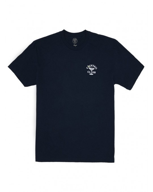 Good Worth & Co Cocktail Club T-Shirt - Navy