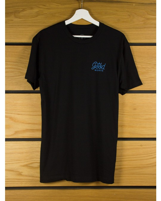 Good Worth & Co Crown T-Shirt - Black