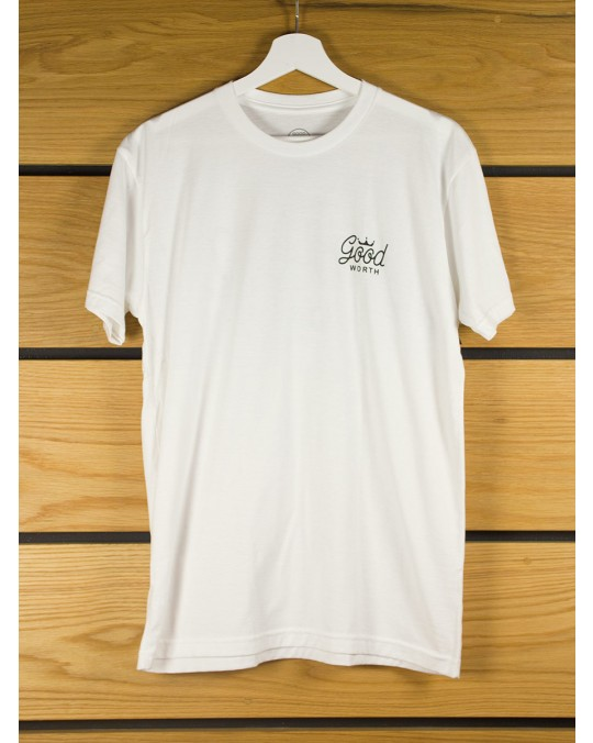 Good Worth & Co Crown T-Shirt - White