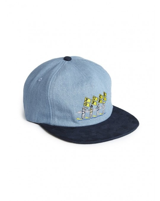 Good Worth & Co x Luke Pelletier Fuck Off Strapback - Denim