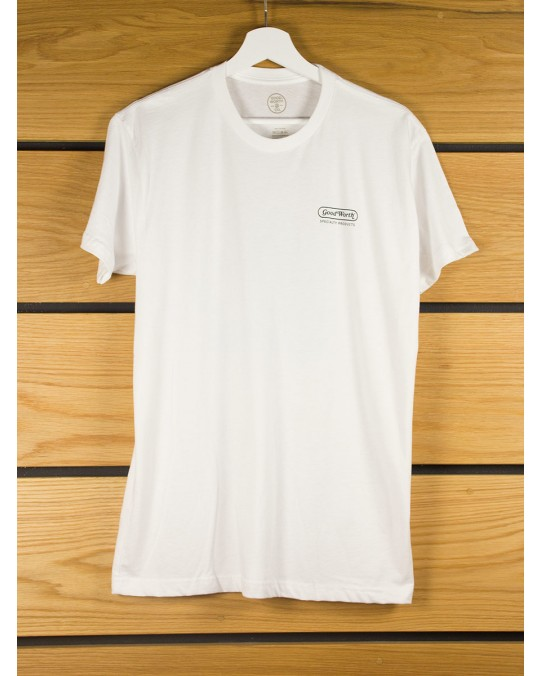 Good Worth & Co Make it a Triple T-Shirt - White