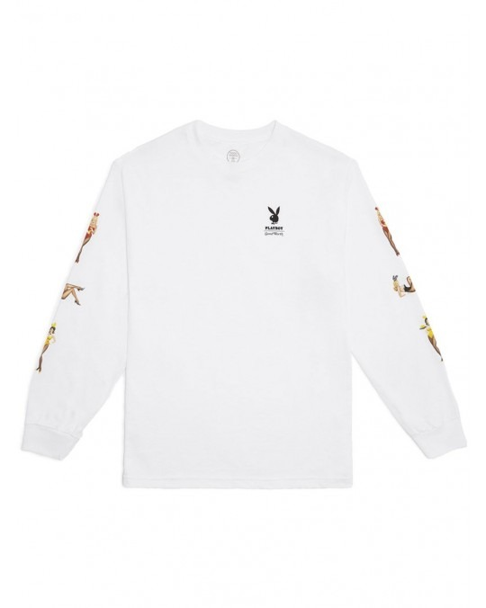 Good Worth & Co x Playboy Playmate L/S T-Shirt - White