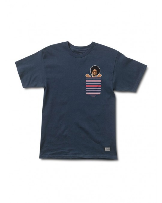 Grizzly x MAC DRE Drevious Pocket T-Shirt - Navy