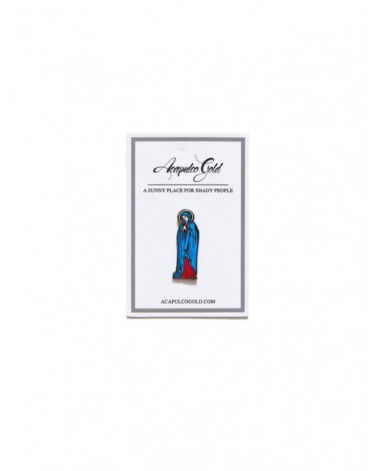 Acapulco Gold Hail Mary Label Pin - Silver