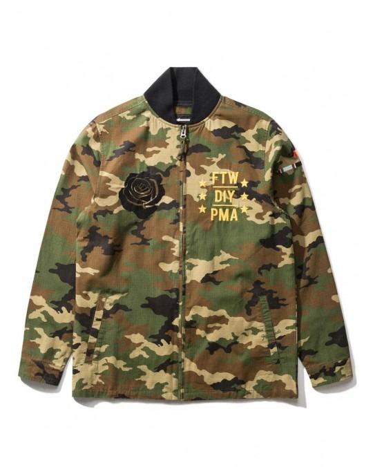 The Hundreds Alta Jacket - Camo