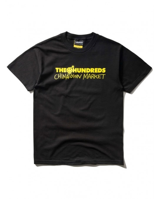 The Hundreds x Chinatown Market Chinatown Bar T-Shirt - Black
