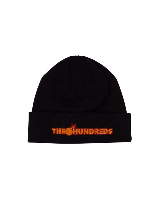 The Hundreds Bar Logo Beanie - Black