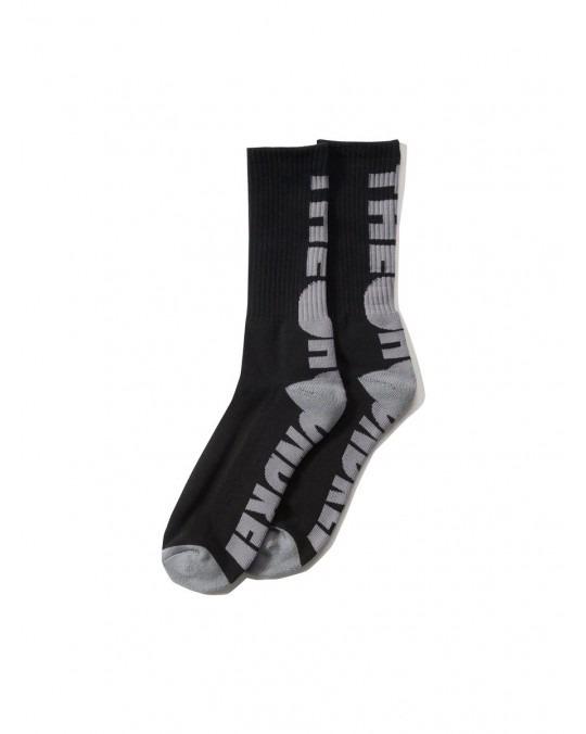 The Hundreds Bar Socks - Black