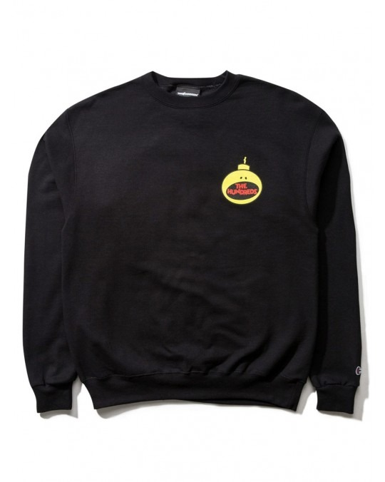 The Hundreds Boombastic Champion Crewneck - Black